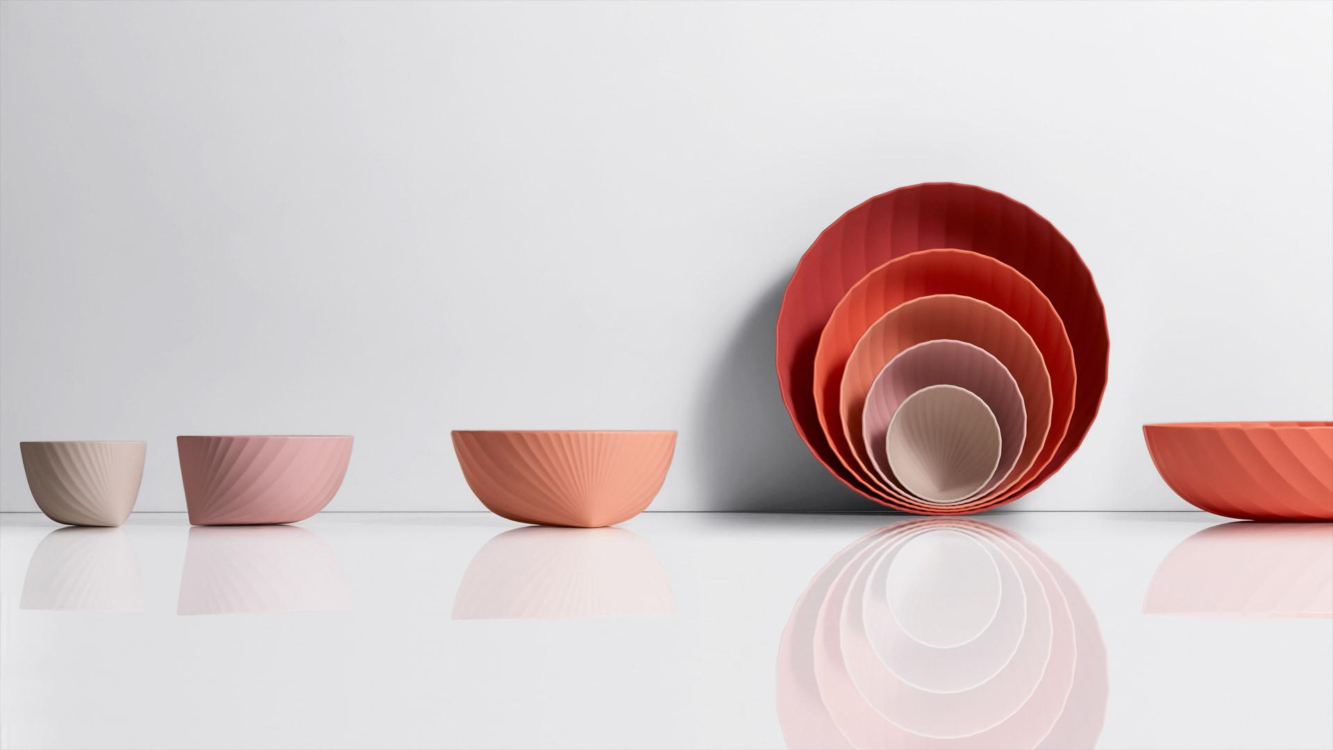 Camellia Bowl Set1